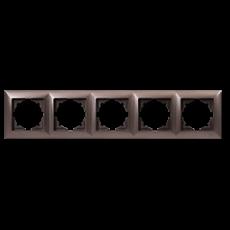 Рамка*5 антрацит