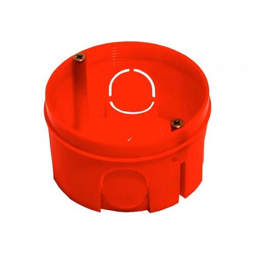 Коробка установочная для сплошных стен круглая Hegel     (КУ1106)