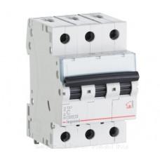 Автоматический выключатель 3P 20A хар-ка C 6kA